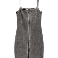 H&M Jersey Dress with Zip $24.99