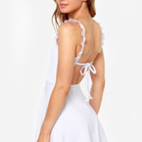 Arm in Arm White Dress