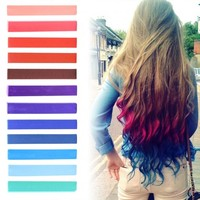 INDEPENDENCE Hair Style | Ombre Hair Chalk set of 12 | HairChalk