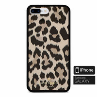 TOP Kate Spade.x0x Leopard Case For iPhone 6 6s 6 6s+ 7 7+ 8 8+ X Samsung