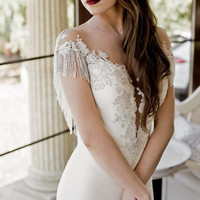 Wedding dress, Serena, unique wedding dress, lace wedding dress, fairy wedding dress