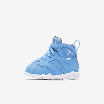 The Air Jordan 7 Retro Infant/Toddler Shoe.