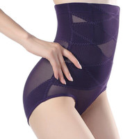 Women Sexy Belly Hip Control Panties High Waist Body Shaper Seamless Underwear Corset Hot Shapers Shapewear Plus Size