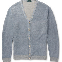 Incotex - Knitted-Linen Cardigan | MR PORTER