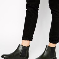 ASOS | ASOS AIRTIME Leather Chelsea Ankle Boots at ASOS