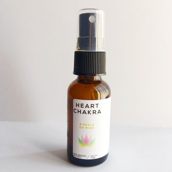 Heart Chakra - Meditation/Body Mist - Made with All Organic Ingredients