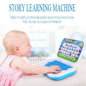 ONETOW Multifunction Learning Machine English Early Tablet Computer Toy Kid Educational Toys for children learning Reading machine