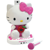 Hello Kitty Karaoke System With Built-in Video Camera