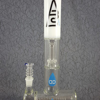 "Dabs White ""El Jefe"" Inline to Showerhead Water Pipe"
