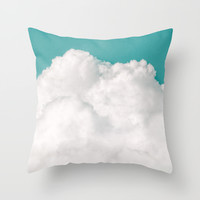 Dreaming Of Mountains Throw Pillow by Tordis Kayma