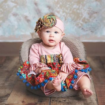 2018 Fall Haute Baby Gypsy Autumn Infant Coverall Pre Order