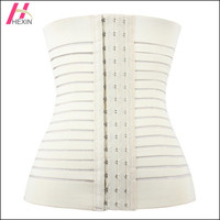 HEXIN 4 Boned Body Shapers Slimming Waist Trainer Cincher Underbust Corset Top Belly Tummy Shaper Gym Sport Wear Fashion = 1696750020