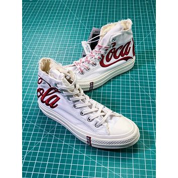 Kith X Coca-cola X Converse Chuck Taylor All Star 1970s Sneakers - Sale