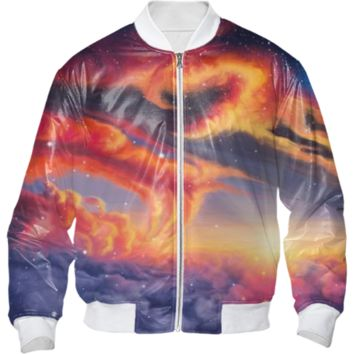 Eternal shining bomber jacket