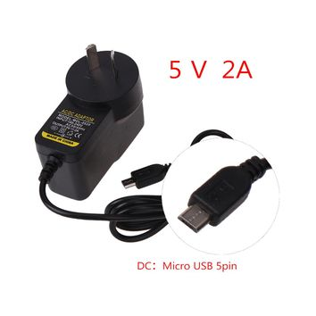 1M Cable AU Plug AC 110~240V to DC 5V 2A Micro USB 5Pin Power Supply Adapter Tablet PC Wall Charger for Windows/Android Pads