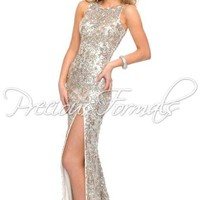 Precious Formals Dress L8916 at Peaches Boutique