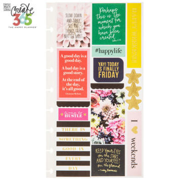 Happy Life Create 365 Happy Planner Stickers | Hobby Lobby | 1422997