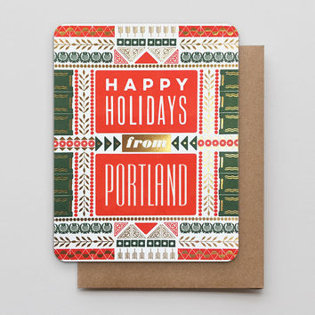 Happy Holidays from Portland