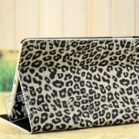 apple ipad mini smart cover leopard print ultra-thin case