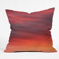 Shannon Clark Evening Throw Pillow