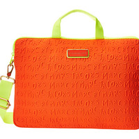 """Marc by Marc Jacobs Adults Suck Neoprene 15"""" Commuter Bag Orange Glow - Zappos.com Free Shipping BOTH Ways"""