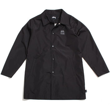 Long Coaches Jacket Black
