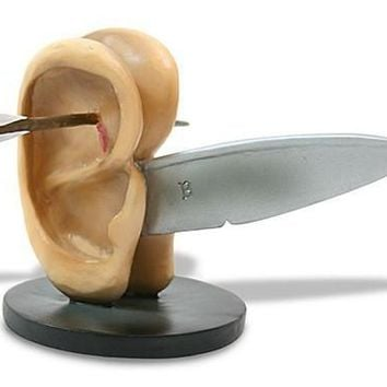 Ears With Knife Statue by Hieronymos Bosch, Assorted Sizes