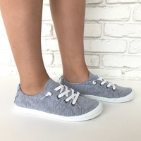 Casual Friday Slip On Sneakers in Grey
