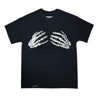Skeleton Hands Tee