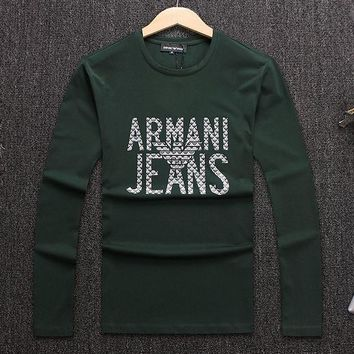 Boys & Men Armani Jeans Top Sweater Pullover