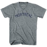 Montreal City Vintage V-neck T-shirt