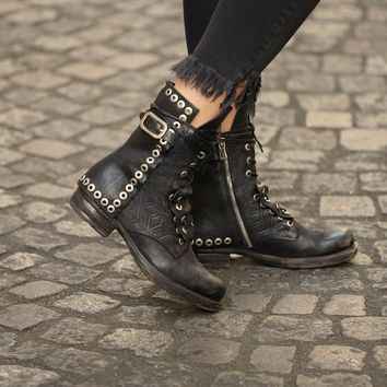 Free People Lucas Lace Up Boot