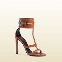 leather ankle-strap sandal 370860C9DS01000