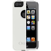 OtterBox Commuter for iPhone 5S / 5 - White / Gunmetal Grey