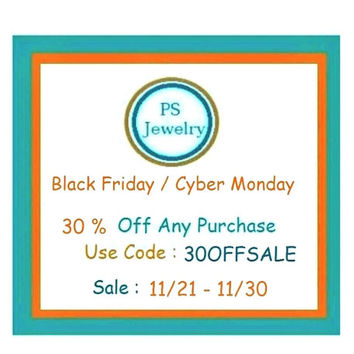 Black Friday Sale ,  30 Percent Off Sale , This listing Is Not For Sale
