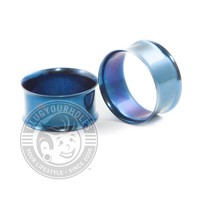 Blue Double Flared Steel Tunnels