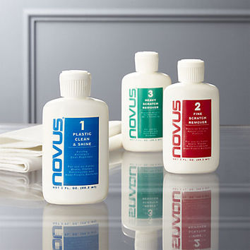 novus plastic polish-cleaner kit