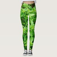 Leaves Leggings