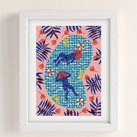 Camilla Perkins Paradise Art Print | Urban Outfitters