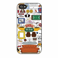 collage central perk cases for iphone se 5 5s 5c 4 4s 6 6s plus