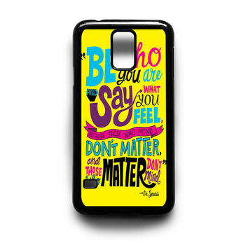 Dr Seuss Samsung Galaxy S3 S4 S5 Note 2 3 4 HTC One M7 M8 Case