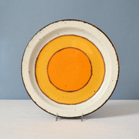 Vintage Midwinter Stonehenge Sun Dinner Plate - 2 Available