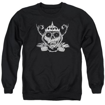 Adventure Time - Skull Face Adult Crewneck Sweatshirt Officially Licensed Apparel