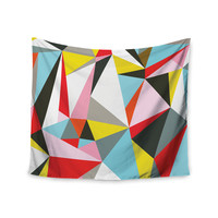"Fimbis ""Mosaik"" Multicolor Geometric Wall Tapestry"