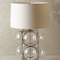 Lathered Lucite Lamp Ensemble by Anthropologie