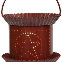 Burgundy Star Tart Wax Warmer