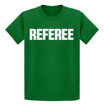 Youth Referee Kids T-shirt