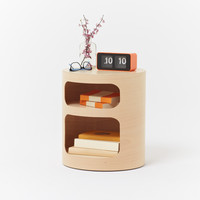 Designer Bedside Table | Bedroom Storage Solutions | Made in Italy