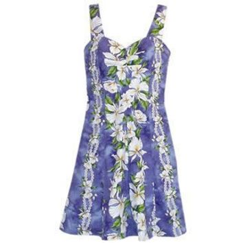 orchid hawaiian sundress
