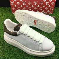 Supreme x LV Old Skool Flats Sneakers Sport Shoes H-CSXY